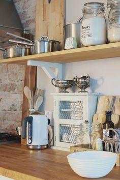 maalaiskeittiö Baby Room, Ikea, Cottage, Flooring, Living Room, Interior, Kitchen, House, Decor