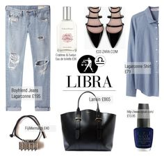 """Libra girls"" by anitadanako ❤ liked on Polyvore featuring Organic by John Patrick, Crabtree & Evelyn, Lanvin, rag & bone/JEAN and Zara"
