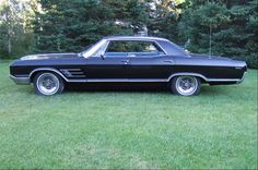 My first car was a midnight blue 1965 Buick Wildcat. Oh, I miss that car!