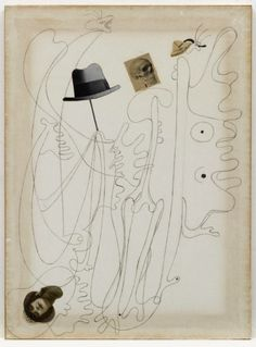 Joan Miró Untitled (Drawing-Collage), 1933 MoMA