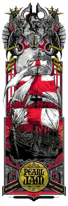 Cool Art: 'Pearl Jam' By Rhys Cooper & Ken Taylor