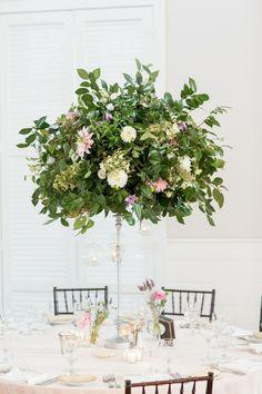 02 Simple Greenery Wedding Centerpieces Decor Ideas