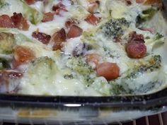Brócolis gratinado com bacon | Inverno | Receitas Gshow