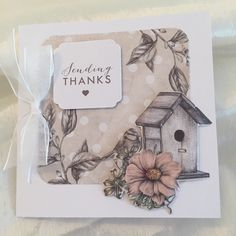 Birds and Blooms-Sample-SamanthaWade Diy Cards, Handmade Cards, Craftwork Cards, Craft Work, Making Ideas, Cardmaking, Birthday Cards, Decorative Boxes, Projects To Try