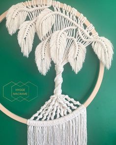 I finally uploaded the Macramé Monstera leaf tutorial that has been so highly requested by you guys…Handmade Macrame Monstera Macrame Tree Dreamcatcher Made with pine wooden hoop and natural cotton rope. Macrame Design, Macrame Art, Macrame Projects, Macrame Knots, Micro Macrame, Macrame Wall Hanging Patterns, Macrame Plant Hangers, Macrame Patterns, Macrame Curtain