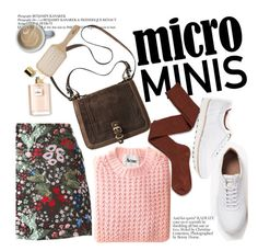 """Micro minis"" by punnky ❤ liked on Polyvore featuring Valentino, Socka and Philip Kingsley"