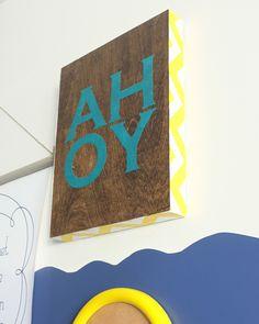 DIY Fabric and Wood Art Panels