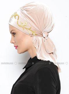 White Bridal Cap Tznius with Lace and Beaded Flowers Trim Turbans, Turban Headbands, Bandana, Turban Tutorial, Modele Hijab, Turban Hijab, Head Scarf Styles, Turban Style, Black Party Dresses