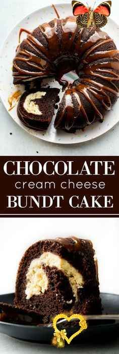 Chocolate Cream Cheese Bundt Cake | Sally's Baking Addiction  <br>