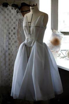 DIOR Haute Couture par Raf Simons | SS 2014 | ph. by Sophie Carre, Dior atelier