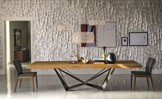 TABLES SKORPIO WOOD | Cattelan Italia