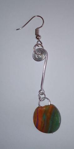 """Ohrringe """"puntos"""" Hängeohrringe – Unikate Schmuck Pendant Necklace, Drop Earrings, Jewelry, Pendant Earrings, Accessories, Ear Piercings, Jewlery, Jewerly, Schmuck"""