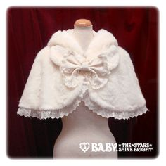 Lolibrary | Baby, the Stars Shine Bright - Cape - White Cat Fur Cape