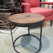 Tisch Rundtisch Eisen Holz Beistelltisch Industrial Mobel