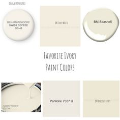 It seems like everyone is painting walls white and kitchens gray. I am here to tell you that gray is done. I just pa Ivory Paint Color, Cream Paint Colors, Neutral Paint Colors, Interior Paint Colors, Gray Paint, Room Colors, Wall Colors, House Colors, Kitchen Paint Colors
