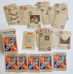 VINTAGE-BOXED-PLAYING-CARDS-DECK-SURVIVAL-MENTAL-ATTITUDE