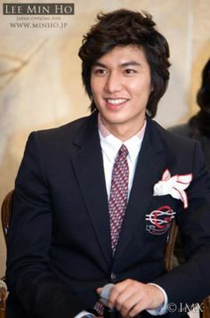 Lee Min Ho, Boys over Flowers Press Conference, 20081222.