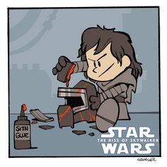Star Wars Jokes, Star Wars Comics, Reylo, Star Wars Clone Wars, Lego Star Wars, Lego Christmas Ornaments, Thanos Iron Man, Cute Disney Characters, Free Lego