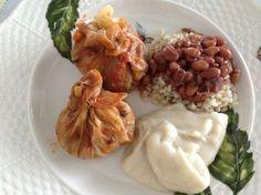 Trouxinha de Repolho | Blog de Receitas, Gastronomia e Bem Estar| Papo Gula