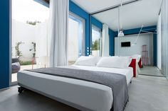Calce Bianca, bedroom, B&B, Italy, Puglia VIA From the Poolside blog on boutique hotels and stylish rentals for family holidays