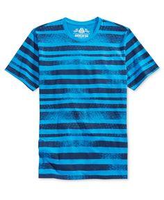 ad2c120607e37 American Rag Men s Distressed Striped T-Shirt