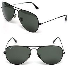fb5c0ddb3b RAY-BAN Men s POLARIZED BLACK AVIATOR SUNGLASSES  fashion  clothing  shoes   accessories  mensaccessories  sunglassessunglassesaccessories (ebay link)