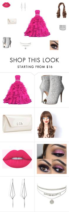 """Rebecca"" by ehope608 ❤ liked on Polyvore featuring Lauren Lorraine, Christian Louboutin and Diane Kordas"