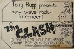 The Clash Chancellor Hall 1977