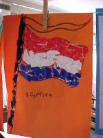 Vlag scheuren Kings Day, Opening Day, Crafts For Kids, Teaching, Woodstock, Children, Carnival, Crowns, Insects