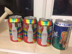 Coke Can Cola Opened Empty 2012 London Olympics & Sprite 2006 FIFA World Cup    eBay
