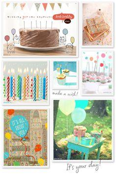 Birthday Bash! Wishing you the happiest litttle birthday ever!