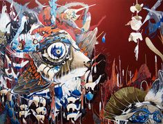 This morning we take a look at the work of South Korean-born artist Mi Ju. Mi received her BFA in painting at SFAI and later went on to earn and. Modern Art, Contemporary Art, San Francisco Art, Macabre Art, Traditional Paintings, Pop Surrealism, Surreal Art, Art World, Art Day
