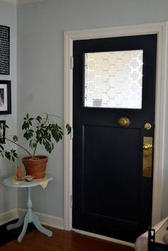 Attractive A Home In The Making: {renovate} Painted Interior Front Door U003eu003e Weekend  Project?