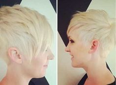 Cool Edgy Pixie Hair