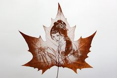 Amazing Leaf Carvings