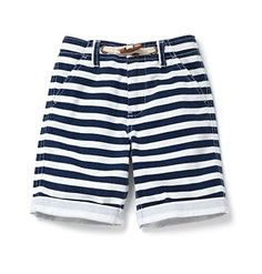 cute striped shorts with toggle!
