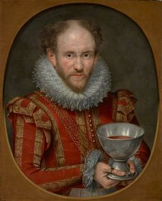 """Tom Derry, Jester to Anne of Denmark"", Marcus Gheeraerts the younger, 1614; National Galleries of Scotland PG 1111"