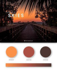 37 Beautiful Color Palettes For Your Next Design Project Flat Color Palette, Website Color Palette, Colour Pallete, Color Combinations, Pantone Colour Palettes, Orange Color Palettes, Ui Color, Gradient Color, Paleta Pantone