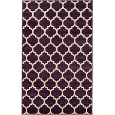 Purple 3 x 3 Trellis Rug Shed Colours, Trellis Rug, Purple Area Rugs, Foot Of Bed, Buy Rugs, Rugs Online, Animals For Kids, Rug Size, Style