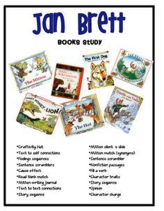 Author Study: Jan Brett – For the love of…