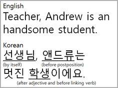 Bruce, The Korean: Nouns