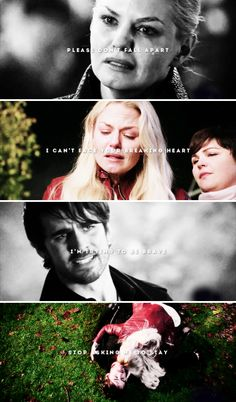 There is so much space between us Maybe we're already defeated #ouat