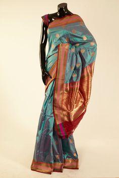 Classic Banarasi Saris, Silk Sarees, Silk Saree Blouse Designs, Elegant Saree, Pure Joy, Wedding Ideas, Pure Products, Classic, Awesome