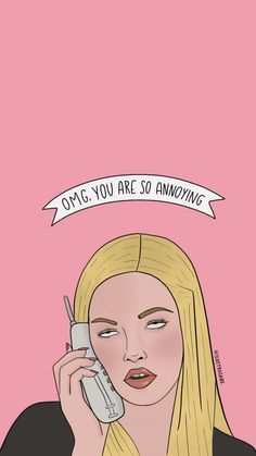 Having a mean girls moment? Pair it with this sassy phone background! Having a mean girls moment? Pair it with this sassy phone background! Cartoon Wallpaper, Funny Iphone Wallpaper, Mood Wallpaper, Iphone Background Wallpaper, Aesthetic Pastel Wallpaper, Funny Wallpapers, Pink Wallpaper, Disney Wallpaper, Wallpaper Quotes