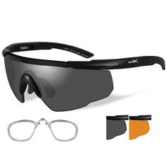 Check out Wiley X Saber Adv... that is now available at Outdoorsman USA! See it on our site here. http://outdoorsman-usa.myshopify.com/products/wiley-x-saber-advanced-sunglasses-smoke-grey-rust-lens-matte-black-frame-w-rx-insert