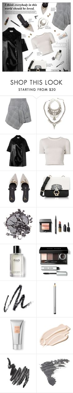 """HAPPY MOMENT"" by larissa-takahassi ❤ liked on Polyvore featuring TIBI, DYLANLEX, Gianluca Capannolo, Cushnie Et Ochs, Furla, Stila, Bobbi Brown Cosmetics, Benefit, Laura Mercier and Napoleon Perdis"
