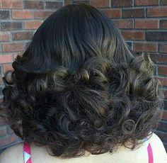 Curls | Teased for added volume | HarterCanyon | Flickr