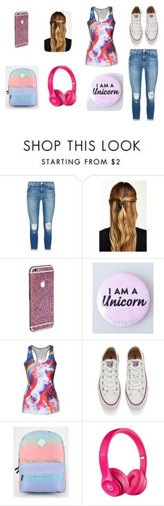 """I am a unicorn"" by james2023 on Polyvore featuring J Brand, Natasha Accessories, Converse, Vans, Apple, women's clothing, women's fashion, women, female and woman"