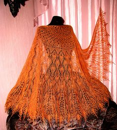Ravelry: Crystal Dew pattern by Alla Borisova Crochet Vest Pattern, Crochet Shawl, Hand Crochet, Knit Crochet, Crochet Patterns, Knit Cowl, Crochet Geek, Knitted Shawls, Crochet Granny