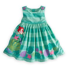 Ariel Woven Dress for Girls | Dresses & Skirts | Disney Store